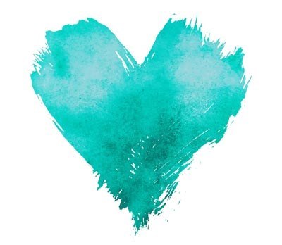 Teal heart committment